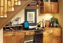Under Stairs Ideas / Great ideas to use the space for under the stairs