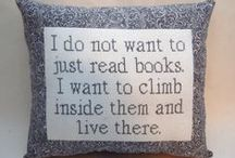 Oh the quotes you will quote / Amazing quotes about reading and books.