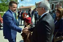 """BAKAN FARUK ÇELİK ESKİŞEHİR'DE / Gıda Tarım ve Hayvancılık Bakanı Faruk Çelik Eskişehir'de """"Tarım ve Hayvancılık"""" konulu toplantıya katılarak çeşitli ziyaret ve temaslarda bulundu. [15 Haziran 2016]"""