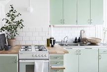 SCANDINAVIAN RETRO KITCHENS