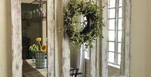 Farmhouse Style / Farmhouse Decorating idea for your Home
