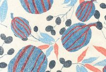 Stylized Florals / Collecting designs which abstract or simplify florals in an interesting way
