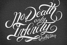Tipografia / Actuales inspiración Diseño.