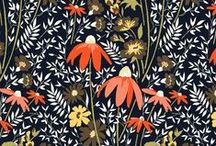 Forties Floral Fashion Prints / Collecting floral prints. patterns and designs, especially those that are reminiscent of or from the 1930's and 40's