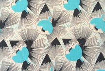 Eastern Textiles / Collecting prints, papers, illustrations and designs inspired by or from Japan