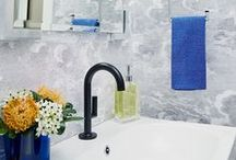 Bathroom Ideas / Create a spa style bathroom without the spa style price.  Get bathroom decorating tips and DIY ideas for space saving, organizing and beautifying your bathroom.