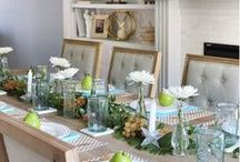 Entertaining in Style / From summer parties to the prefect family gathering, find DIY ideas, recipes, entertaining essentials and decor inspiration for indoor and outdoor entertaining right here.