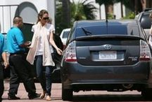 Celebrity Toyotas / Celebrity Toyota Owners - From the eco-friendly Prius to the big  Highlander, movie stars love them all!