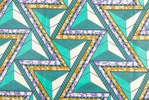African Textiles / African and Dutch Wax prints collecting imagery and examples