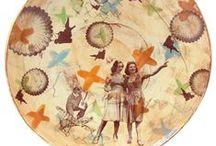 Ceramic Plate +  Platter / by Mary Johnston