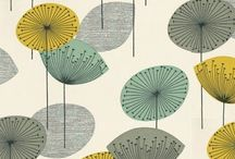 Midcentury Modern Prints / Textiles and illustrations from or inspired by mid-century design