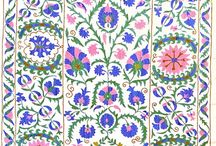 Folk Designs / Textiles and motifs with a folkloric style