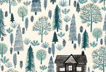 Woodland World / Patterns and prints inspired by forests