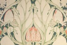 Arts and Crafts Motifs and Designs / From William Morris to Voysey I love the arts and crafts movement and it's love of organic elements and celebration of nature