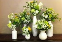 Centrepieces / A variety of centrepieces used for weddings, functions and that special holiday
