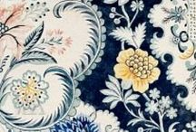 Antique Textiles / Textiles and toiles from or inspired by French 18th century designs