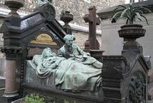 Cimetiere du pere lachaise / Cemeteries in Paris  / by Lynn F
