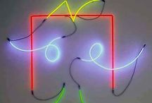 Neon & lines
