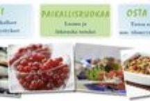 Lähiruokaa  suomesta / Local Finnish food products