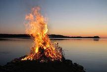 Beutiful nature / Skandinavian nature in different seasons