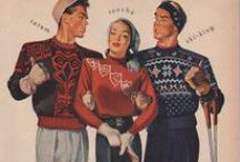 Vintage Knitting / винтажное вязание / by Helena