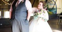 Plus Size Wedding / Plus size wedding fashion for plus size brides.