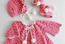 Clothing / Crochet jackets, sets, etc
