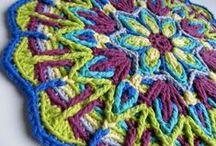 Mandalas / Crochet mandalas
