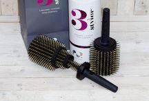 3STYLER 3 in 1 BOAR BRISTLE HAIR BRUSH HAIR PHILOSOPHERS / 3styler unique 3 in1 Mega hairbrush