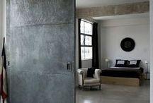 // Industrial / Industrial. Spaces. Deisgn. Decor. Furniture.