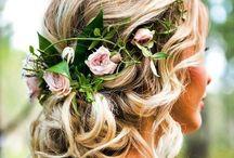 WEDDING HAIR & MAKEUP / Wedding hairstyles and makeup