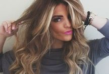 OMBRÉ BALAYAGE HAIR / Ombre colour on long and mid lengths  Light and dark