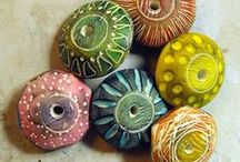 Jewellery - Polymer Clay / Crafting Polymer Clay / by Fat Fae