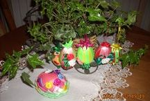 Easter / Easter eggs and decoration