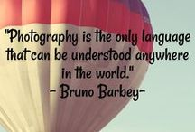 Words of Wisdom / Memorable photo quotes to live by.