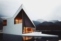 współczesna architektura (bryła zewnętrzna)/modern architecture external