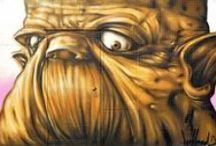 DeefFeed_ Street Art / streetart graffiti streetartist streetartphotographygraffitiart blackbooktattoos urbanart graffitiporn murales performingartsphotography