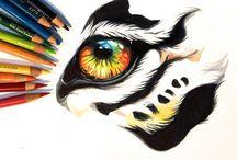 Rajzok, festmények, .....