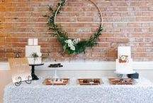 Urban Chic Wedding Ideas | Urban Wedding Decoration Ideas | Urban Wedding Venues / A perfect theme for a modern, urban couple— 'industrial' wedding inspiration combines the charm of rustic with the trendiness of shabby chic!