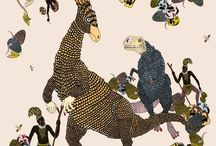 Jurassic Patterns Dinosaur Prints / Illustrations, prints and Patterns that feature Dinosaurs!