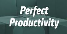 Perfect Productivity / Ways to stay on track.