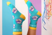 Patterned Socks / I love a good pair of patterned socks, collecting together some of my fave designs!