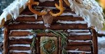 Real (tasty) Log Homes - Gingerbread Log Cabins / A little log cabin love for the Holidays from Real Log Homes!
