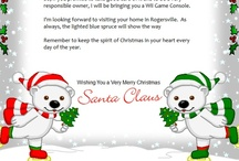 Making Christmas Special / The magic of a letter from Santa at Christmas will truly make the spirit of the holiday come to life.