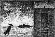 Black and White Illustrations / by Saralisa P.