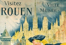 Chouette! Vintage Rouen, Normandy Posters / Vintage posters from France, Normandy, Rouen