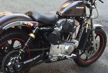 Harley Davidson XR-1000 & something else / Tribute to Harley Davidson XR-1000