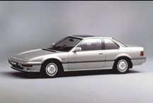 Classic Honda Cars / A collection of Classic Honda cars.