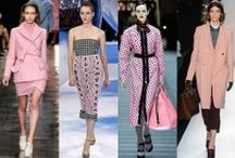 BLUSH HOUR / It's time to rethink pink. No longer just a little girl hue, pastel pink has become one of Autumn/Winter 2014's most important and unexpected trends.