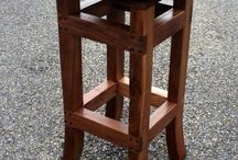 Custom Bar Stools / Like having choices! We allow you to design your own bar stool.
